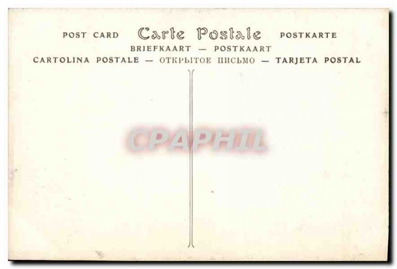 Postcard Old Gobelins Tapestry right wing of Bataile of Constantine after Giu...