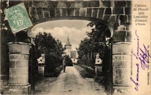CPA Chateau de Piccole pres Lencloitre (255705)