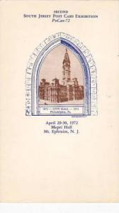New Jersey Mt Ephraim Second South Jersey Post Card Axhibition
