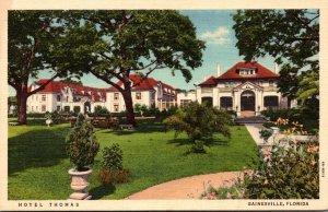 Florida Gainesville Hotel Thomas Curteich