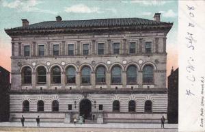 Public Library at Newark NJ, New Jersey - pm 1908 - UDB