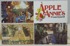 Apple Annie's Courtyard Orlando Florida Vintage Postcard