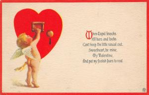 Valentine~When Cupids Knocks...Door to Heart~Keyhole Bars & Locks Can't Stop~PC