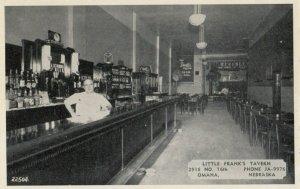 OMAHA, Nebraska, 1930s ; Little Frank's Tavern , Interior