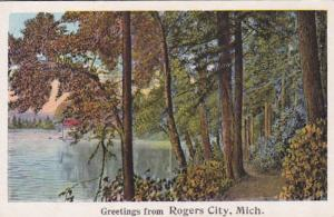 Michigan Greetings From Rogers City