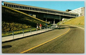 Eau Claire Wisconsin~State University Campus~Hilltop Center~Residence Hall~1950s