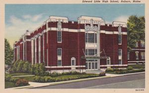Maine Auburn Edward Little High School Curteich