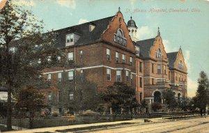 LP69   Cleveland  Ohio  St. Alexis Hospital  Postcard