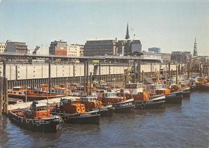 Hamburg Hafenschlepper warten auf Ihren Einsatz Schiff Harbour