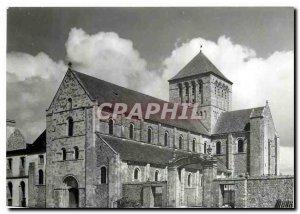 Postcard Modern Lessay Abbey Church Channel