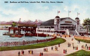 CO - Denver, White City. Ballroom & Boat House at Lakeside