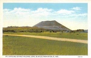 Mt. Capuline Extinct Volcano 30 miles east of Raton - Raton, New Mexico NM