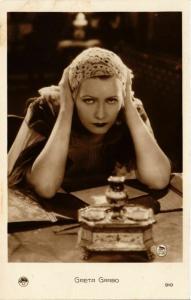 CPA AK Greta Garbo FILM STARS (815803)
