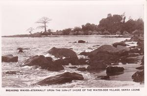 RP: SIERRA LEONE, 20-40s; Shore , Waterside village