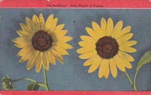 The Sunflower State Flower Of Kansas 1949
