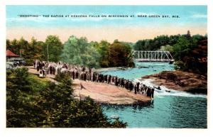 Wisconsin  Keshena Falls , Shooting the Rapids