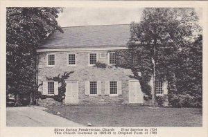 Silver Spring Presbyterian Church Pennsylvania Albertype