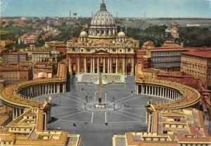 Italy Roma Piazza S. Pietro, St. Peter's Square, Place Saint Pierre