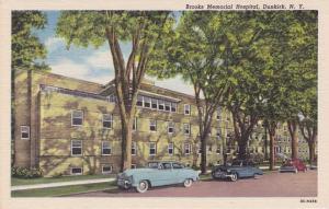 Brooks Memorial Hospital - Dunkirk NY, New York - Is that a Pontiac? - Linen