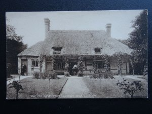 Hereford EASTNOR nr Ledbury THE OLD POST OFFICE c1905 Postcard by Tilley & Son