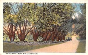 Shaker Columbia County, Postcard Mount Lebanon, New York USA, Old Vintage Ant...