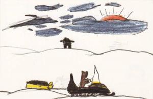 Artwork From Indians Kids (David Kootook - Age 10), Expo 86, Northwest Territ...