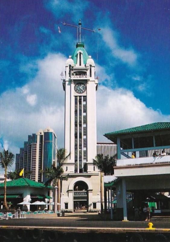 Hawaii Honolulu Aloha Tower