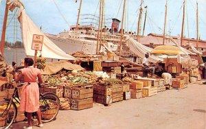 Water Front Market Nassau, Bahamas Virgin Islands 1960