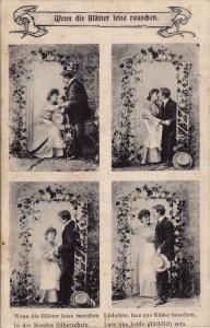 4-Views of  a Couple, Ivy Arch, Wenn die B;atter leise rauschen, PU-1905