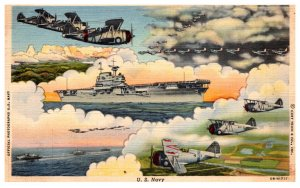 U.S. Navy Aircraft carrier, Airplanes