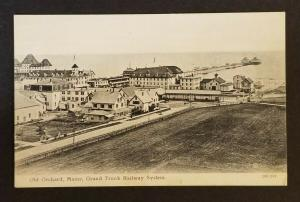 Mint Old Orchard Maine Grand Trunk Railway System Real Picture Vintage Postcard
