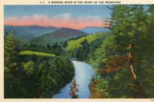 Winding River, Smokey Mountains
