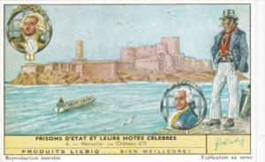 Liebig S1735 State Prisons and Famous Guests No 6 Marseille Le Chateau d'If