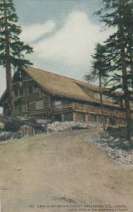 VANCOUVER, British Columbia , 1900-10s ; Grouse Mountain Chalet