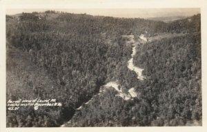RP: MACOMBER , West Virginia , 30-40s; U.S. 50, Aerial View, Laurel Mt.