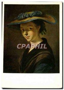 Postcard Modern Chefs Du Musee De Nancy Pierre Etienne Falconet Girl in straw...