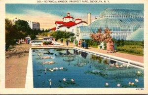 New York City Brooklyn Prospect Park Botanical Garden 1953