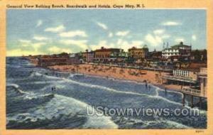 Bathing Beach  Cape May NJ 1952