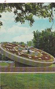 Kentucky Frankfort Floral Clock
