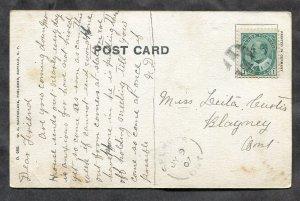 dc78 - BUFFALO NY 1907 Main Street