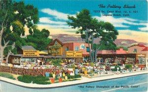 Postcard The Pottery Shack, Laguna Beach, CA