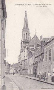 MONTREUIL SUR MER, Pas De Calais, France, 1900-1910s; Le Chapelle De L'Hotel ...
