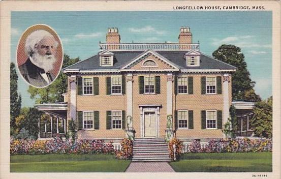 Longfellow House Cambridge Massachusetts