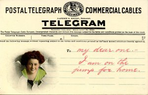Telegram Message from Lady