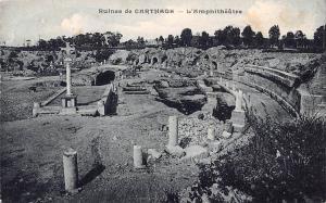 Tunisia Ruines de Carthage L'Amphitheatre