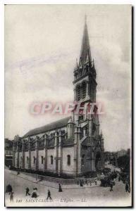 Postcard Old Saint Cloud Church