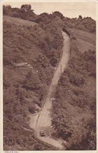 Porlock Hill, Somerset, England, UK, PU-1946