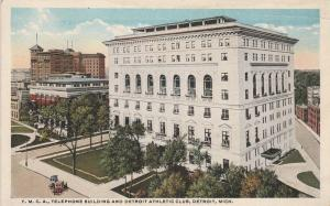 YMCA, Telephoe Building, and Athletic Club - Detroit MI, Michigan - WB