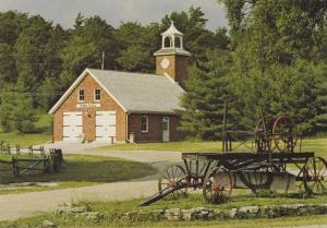 Doon Pioneer Village, View Of Restored Historic Fire Hall, Kitchener, Ontario...