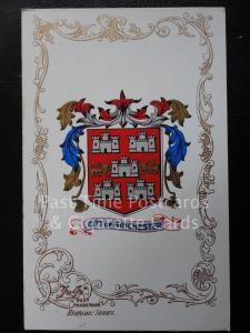 c1906 - WINCHESTER - Heraldic Coat of Arms